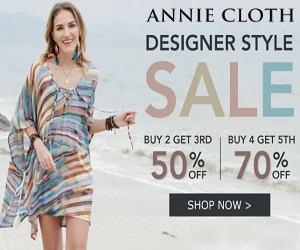 Be unique with your fashion style at Anniecloth.com
