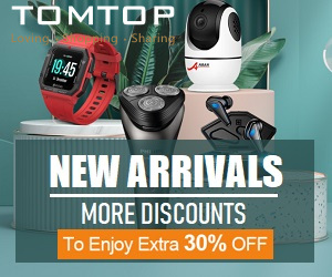 Tomtop offers high quality products at best prices