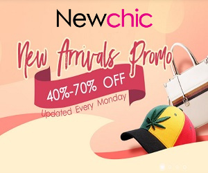 Shop your fashion needs at Newchic.com