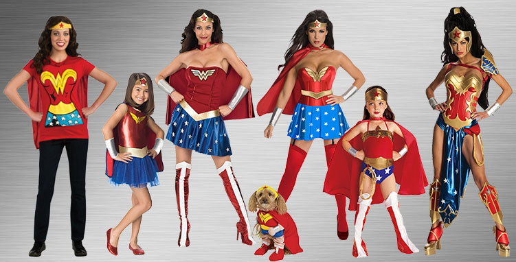 The Wonder Woman Costume