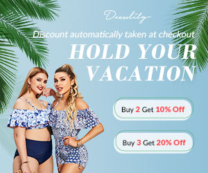 Dresslily - Hold Your Vacation Promo