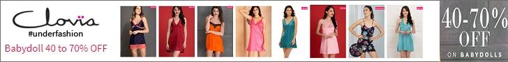 Shop your high quality lingerie's at Clovia.com