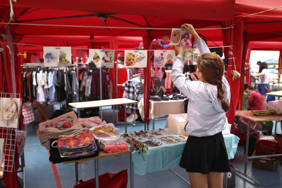 Sell Dresses at a Bazaar