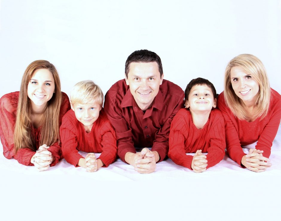 Dresses and Family Portraits