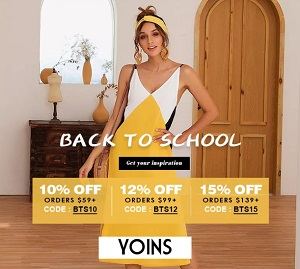 Order dresses online at Yoins.com
