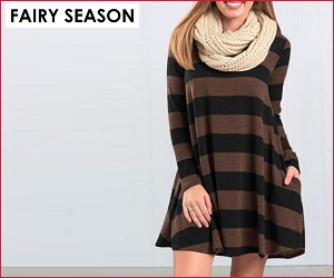 Shop your celebrity-inspired clothes at FairySeason.com
