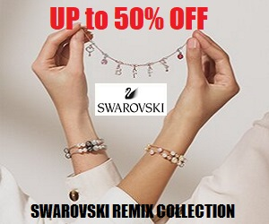Swarovski's Jewely at the prices you love