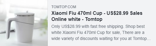 Xiaomi Fiu 470ml Cup Coupon: HYXFCUP Price: $19.39