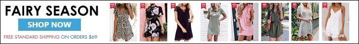 Shop your dresses at FairySeason.com