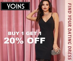 Shop your perfect looking dresses only at Yoins.com