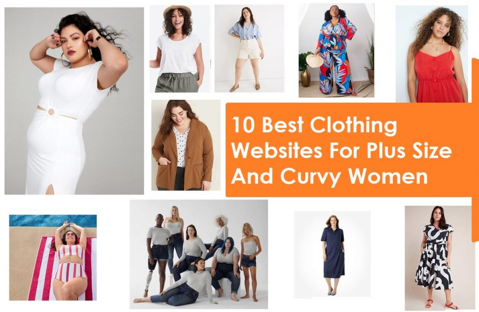 10 Best Clothing Websites For Plus Size And Curvy Women