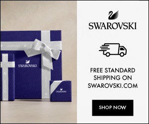 Swarovski's exclusive selection is always right for you