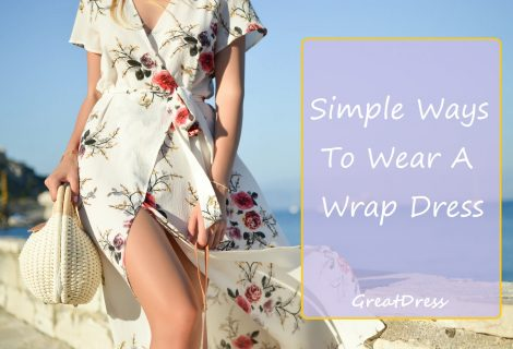 Simple Ways To Wear A Wrap Dress