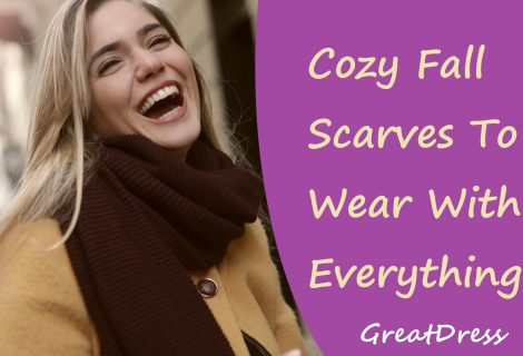 Cozy Fall Scarves To Wear With Everything