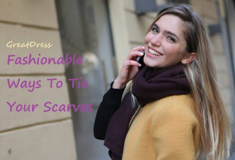 Fashionable Ways To Tie Your Scarves