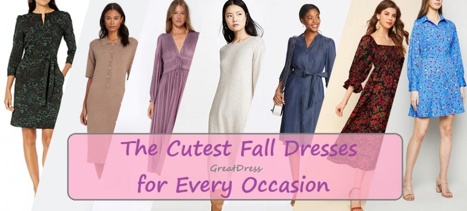 The Cutest Fall Dresses for Every Occasion