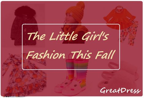 The Little Girl's Fashion This Fall
