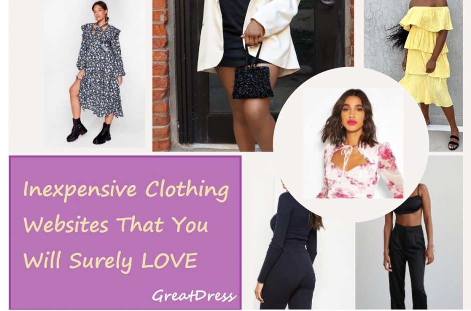 Inexpensive Clothing Websites That You Will Surely LOVE