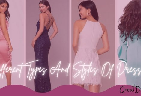 Different Types And Styles Of Dresses